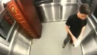 с покойником в лифте