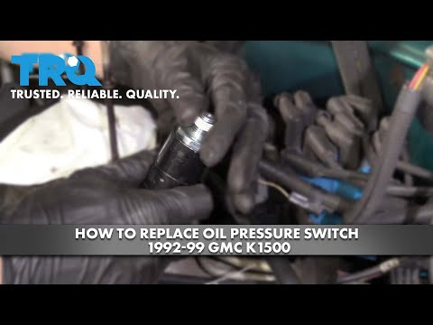How To Replace Oil Pressure Switch 1992-99 GMC K1500