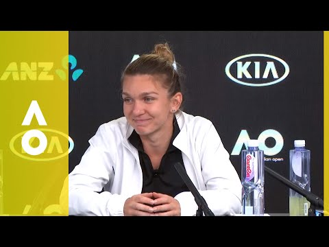 Simona Halep press conference (SF) | Australian Open 2018