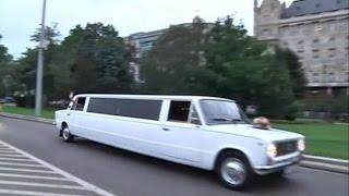 Венгерский автолюбитель превратил старые «Жигули» в шикарный лимузин (новости)