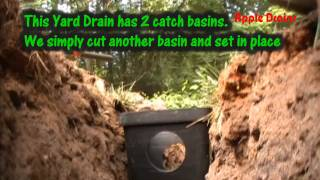 simple steps to installing a french drain simple step by step instructions from apple drains