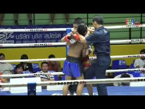 Professional Muay Thai Boxing from Lumphinee Stadium on 2015-01-03 at 11 pm