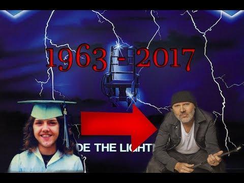 LARS ULRICH'S CHANGE (1963 - 2017)