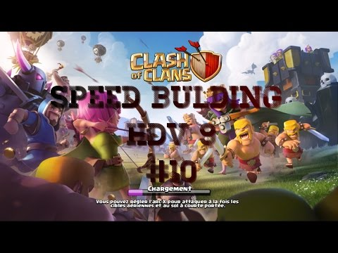 Clash of Clans Speed Bulding HDV 8 |#10