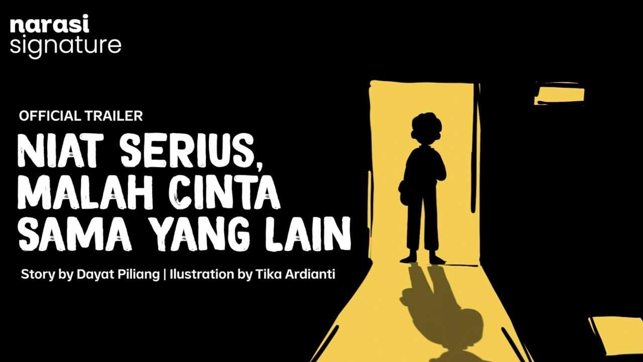 Animasi Biar Kegambar: Niat Serius, Malah Cinta Sama yang Lain (Official Trailer) | Narasi Signature