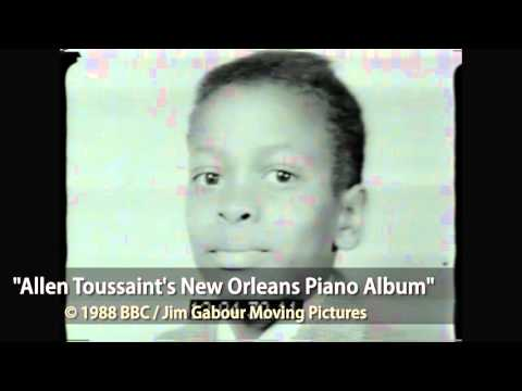 Allen Toussaint: An interview from 1988 with Jim Gabour for the BBC