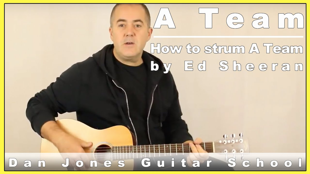 How To Play Like Ed Sheeran In A Team.