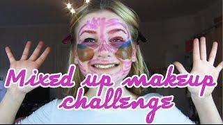 💄Mixed up makeup challenge💄