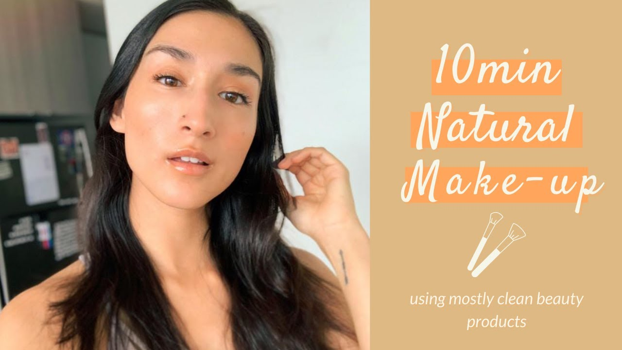 Natural Make Up for Glowy Skin