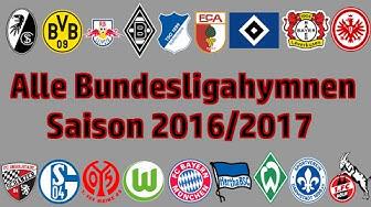 Alle Bundesliga Stadionhymnen [2016/2017]
