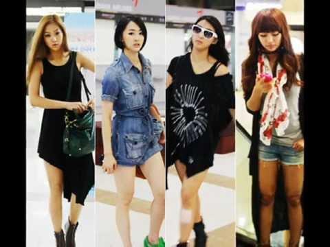 K Pop Idol Airport Fashion Youtube