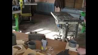 стружкоотсос часть 3 разводка труб к станкам(В этом видео я показал окончание работ с задвижками и как смонтировал трубы с применением ревизий для очист..., 2015-03-11T14:17:30.000Z)