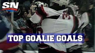 Best NHL Goalie Goals of All-Time