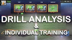 Drill Analyisis And Individual Training-Top Eleven