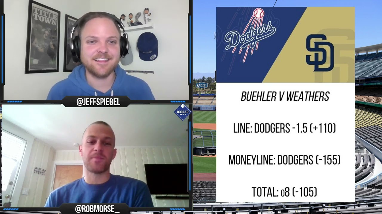 Dodgers vs Padres Odds, Lines, and Pick