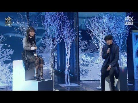 AKMU - '오랜 날 오랜 밤 (LAST GOODBYE)' with YOON  in 2018 Golden Disc Awards