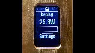 DNA250C di Evolv - Funzione Replay (1) Unpacking - Replay - Replay - Replay - Replay - Replay -