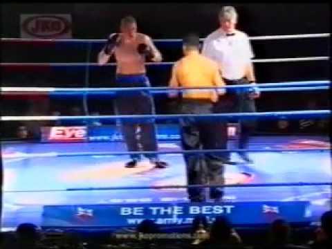 British Champion in Kickboxing Mohammed Alazzawi