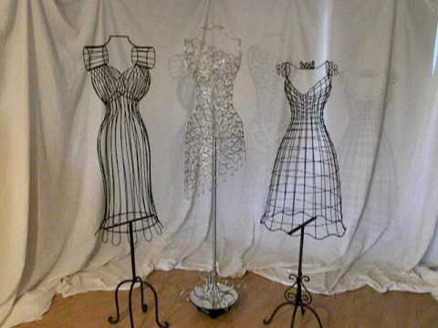 make a fashion statement with wire mannequins youtube