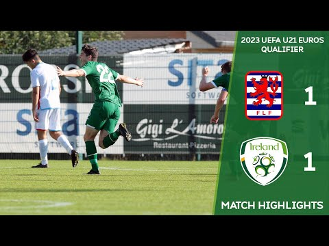 HIGHLIGHTS | Luxembourg U21 1-1 Ireland U21 - 2023 UEFA European Under-21 Championship Qualifier