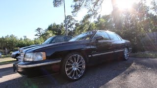 1997 Cadillac Deville ( ONLY $900 ) Comes with the 20 INCH Chrome Wheels