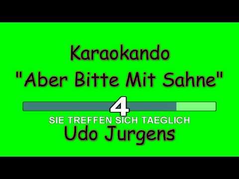 Karaoke Internazionale - Aber Bitte Mit Sahne - Udo Jurgens ( Lyrics )