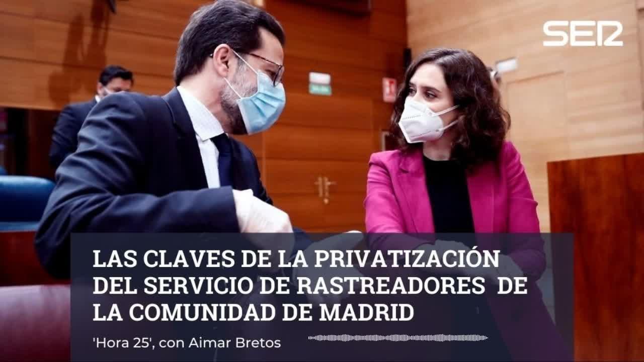 Las claves de la privatización del servicio de rastreadores de Madrid