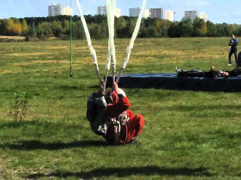 Приземление парашютистов