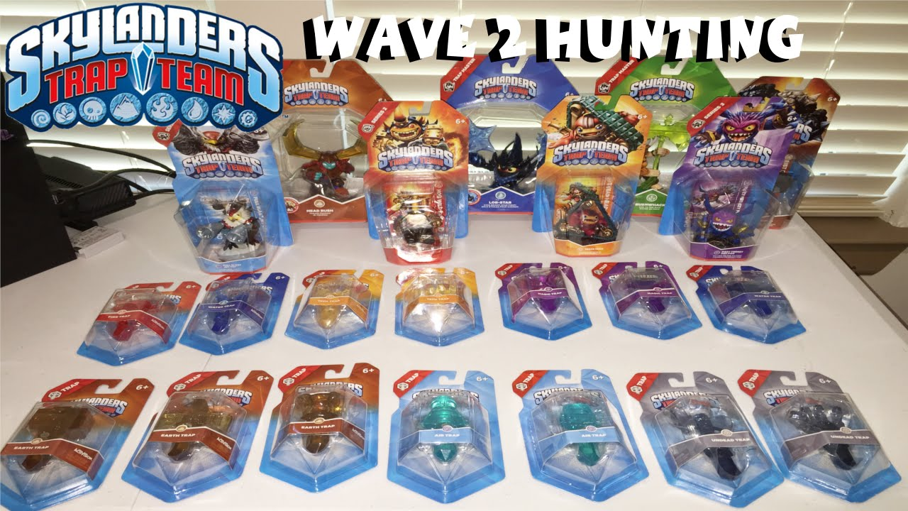 Skylanders Toys R Us : Skylanders trap team wave hunting toys r us youtube