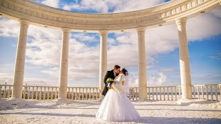 Красивый зимний свадебный клип: Илья и Татьяна