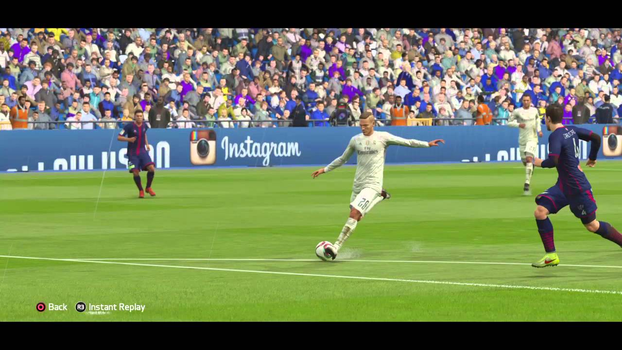 FIFA 16 Marcos Llorente Strike Youth Player - YouTube