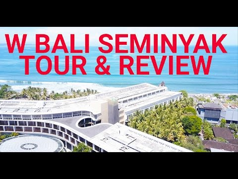 A Review & Tour of the W Bali Seminyak (Plus Villa!!)