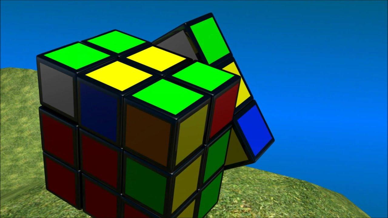 epic 3d rubik's cube solve (hd) - youtube