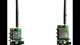 2.4GHz Wireless Video Audio Transmitter Receiver 4 Channels [Manufactured in INDIA] - Demo 1