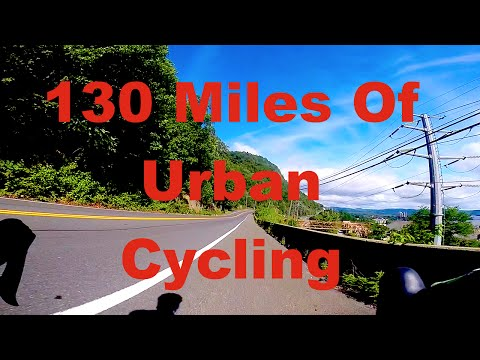 Epic 130 Miles Cycling: Brooklyn to Bear Mt NY. C-vlog #24 (HD, GoPro)