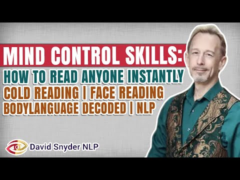 Mind Control Skills: How To Read Anyone   Cold Reading   Face Reading   Body Language Decoded  NLP