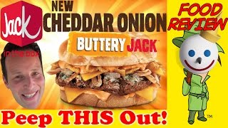 Jack In The Box® | Cheddar Onion Buttery Jack™ Review! Peep THIS Out!