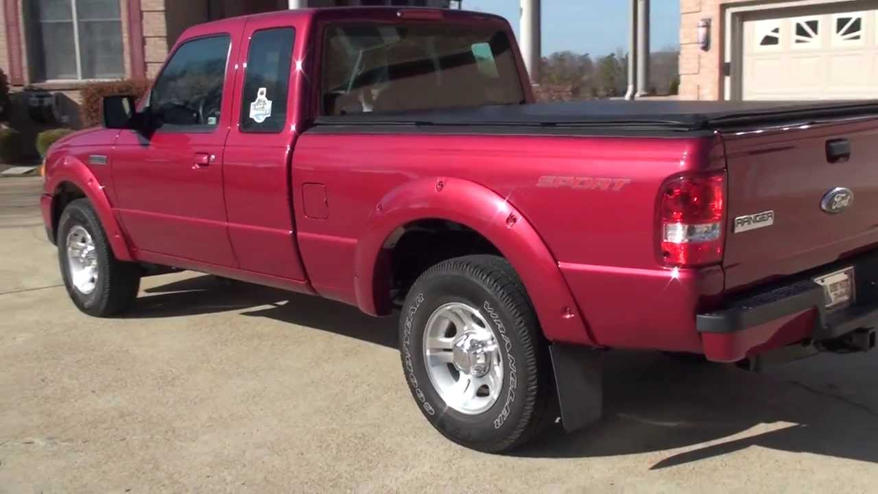 hd video 2010 ford ranger sport extended cab for sale see www sunsetmotors com youtube. Black Bedroom Furniture Sets. Home Design Ideas