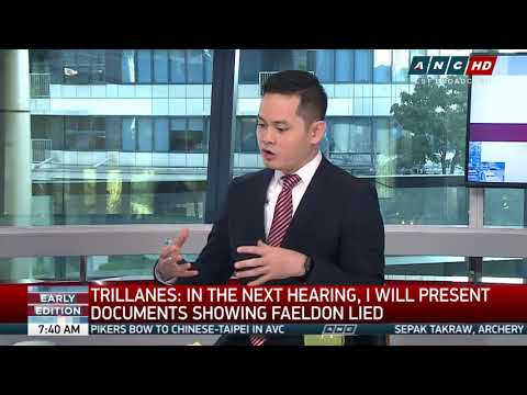 Trillanes, ex-Customs intel chief clash over BOC bribes part 1