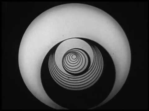 "1926 Marcel Duchamp - ""Anemic cinema"" (excerpt)"
