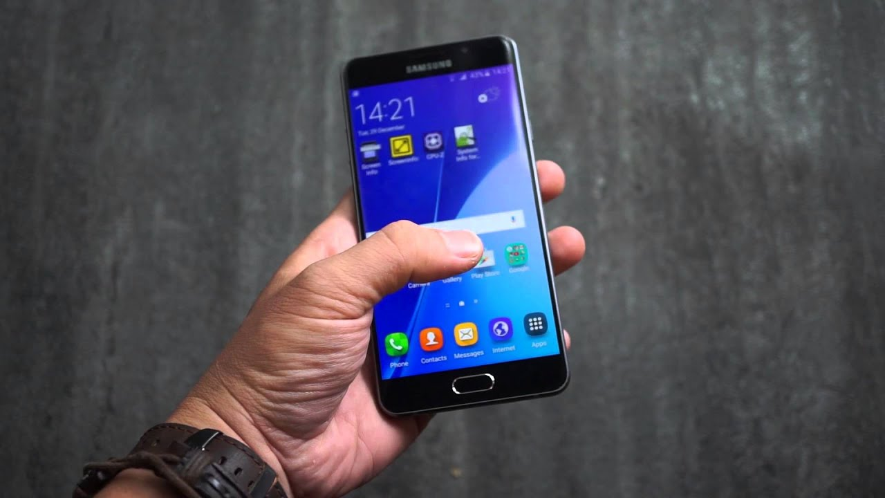 Trên tay Samsung Galaxy A7. Tinh tế