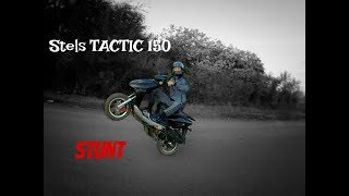 Тактик валит, тактик прёт! Stels tactic 150/Стант/Жогово