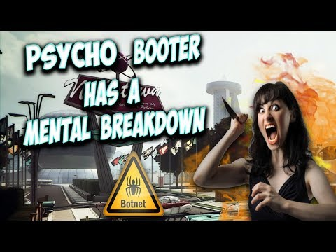 Psycho Booter Chick Has A Breakdown! (Nero Vs Booter #3)