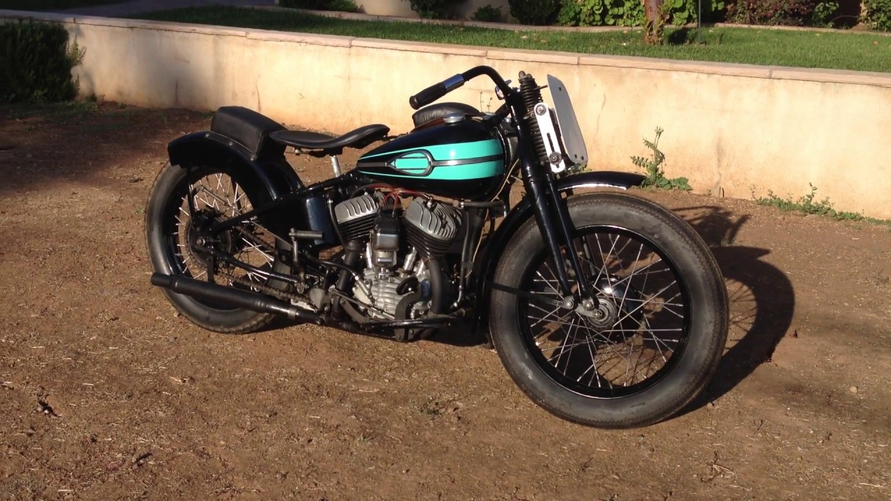 1940 harley davidson wld youtube