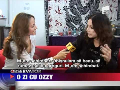 Ozzy Osbourne in Romania, Bucharest, Antena1