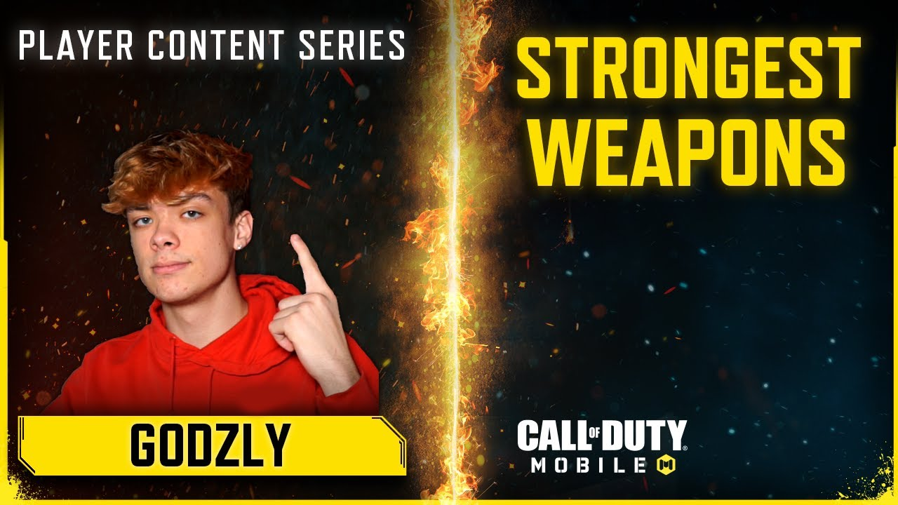 Call of Duty®: Mobile x Godzly | Top 5 Most Powerful Weapons