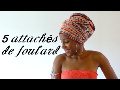 43f06344ca7a Tuto  5 attachés de foulard maré tèt faciles à réaliser - YouTube