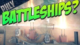 War Thunder Battleships - Can It Work? (War Thunder Ships)