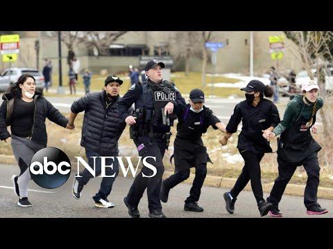 10 killed in supermarket shooting in Boulder, Colorado | WNT