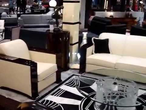 mobilier macassar de luxe paris france canap s art d co paris france dubai youtube